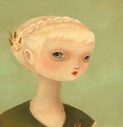 Portrait with Jackalope low 2