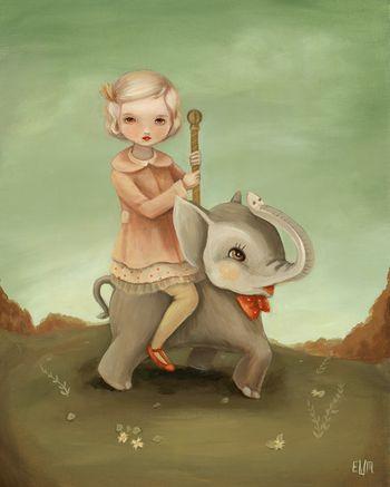 Carousel ElephantLo