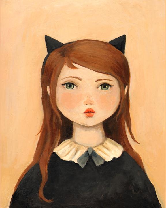 PortraitwithCatEarsLow