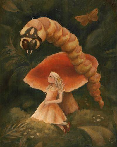 AliceCaterpillar8x10