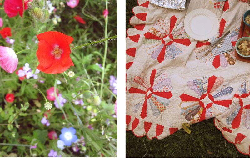 Poppies quilt