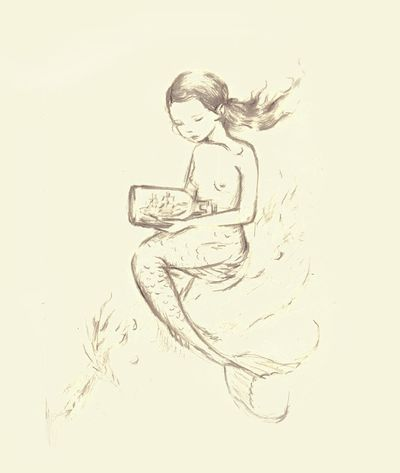 Mermaid Sketch1