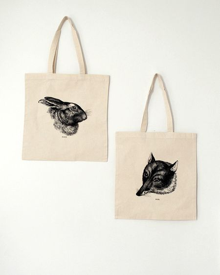 Hare tote both